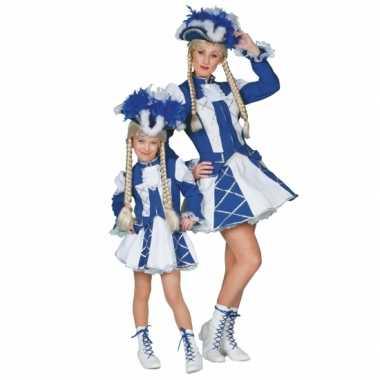 Twirl verkleedkleding blauw voor meiden