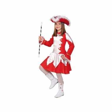 Twirl verkleedverkleedkleding rood voor meiden