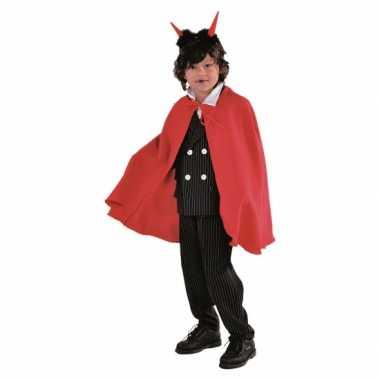 Vampier verkleedkleding cape rood