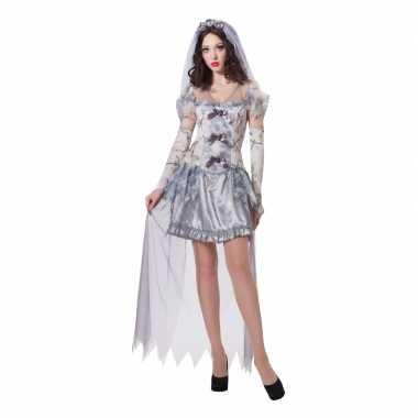 Verkleed geest bruid verkleedkleding voor dames