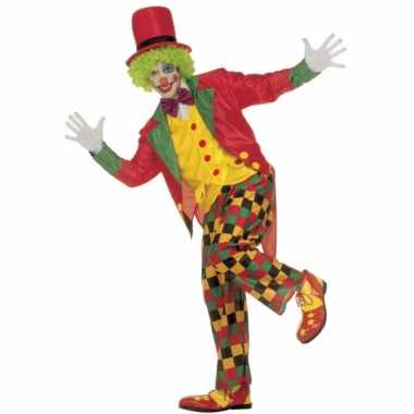 Verkleedkleding clown volwassenen