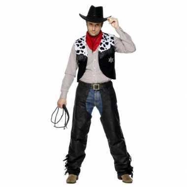 Verkleedkleding cowboy heren