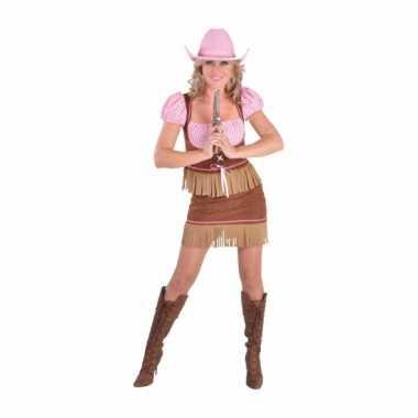 Verkleedkleding cowgirl dames