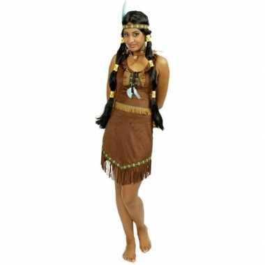 Verkleedkleding indiaan jurkje voor dames