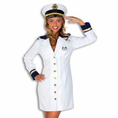 Verkleedkleding kapitein dames