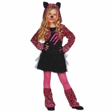 Verkleedkleding katten jurkje kids