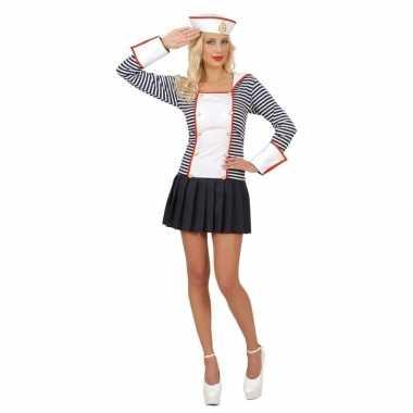 Verkleedkleding matroos voor dames