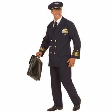 Verkleedkleding piloot voor heren
