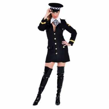 Verkleedkleding politie agente jurkje