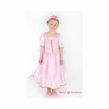 Verkleedkleding prinses lichtroze meisjes