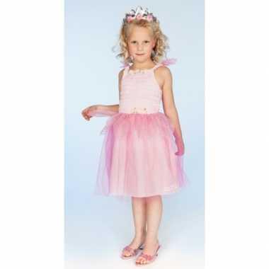 Verkleedkleding prinses roze meisjes