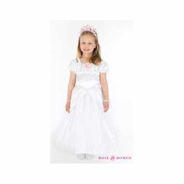 Verkleedkleding prinses wit meisjes