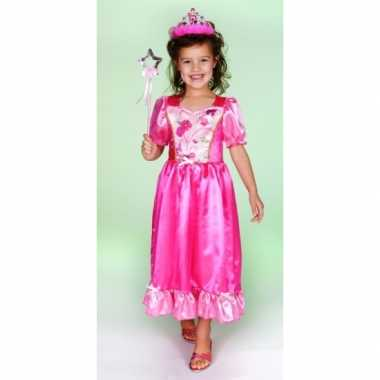 Verkleedkleding prinsessenjurk roze