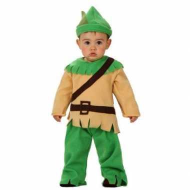 Verkleedkleding robin hood voor babies