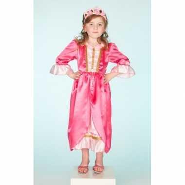 Verkleedkleding roze jurk voor meisjes