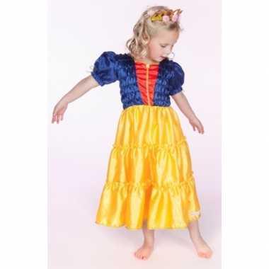 Verkleedkleding sprookje prinses meisjes