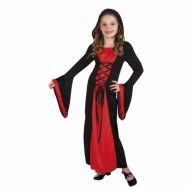Verkleedkleding vampier valentina voor meisjes