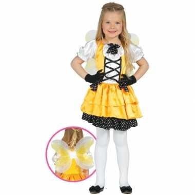 Verkleedkleding vlinder verkleedkleding geel