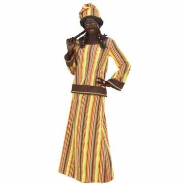 Verkleedkleding voor afrikaanse vrouw