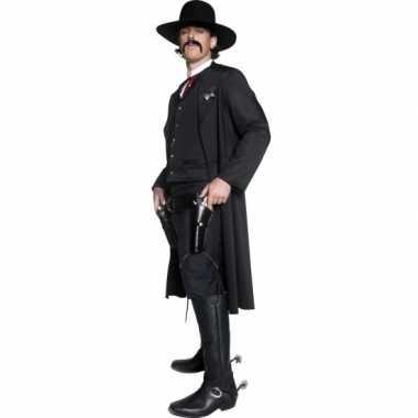 Verkleedverkleedkleding sherrif voor heren