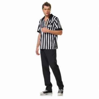 Voetbal scheids verkleedkleding