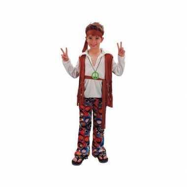 Voordelig hippie verkleedkleding voor jongens