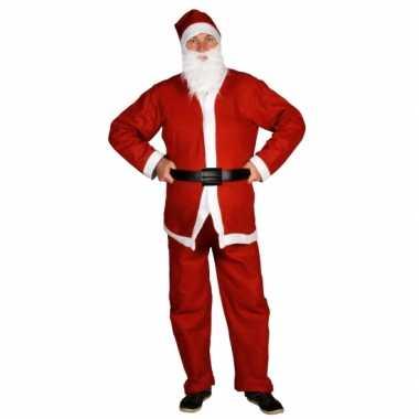 Voordelige kerstmannen verkleedkleding