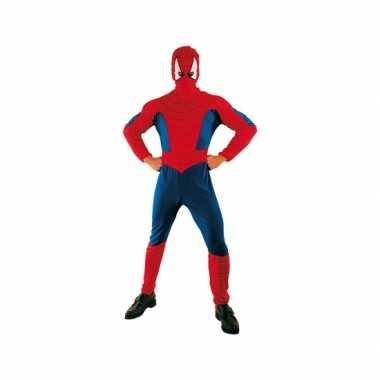 Voordelige spinnenheld verkleedkleding voor volwassenen