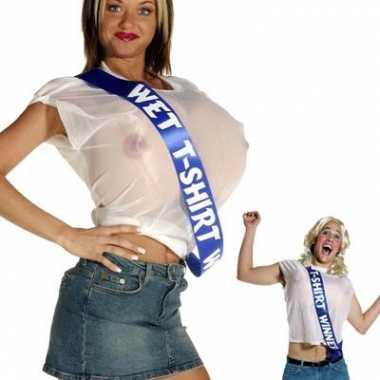 Wet t shirt contest winner verkleedkleding