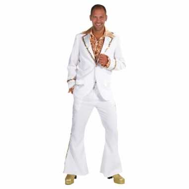Witte seventies verkleedkleding heren