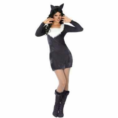 Wolf verkleedkleding voor dames