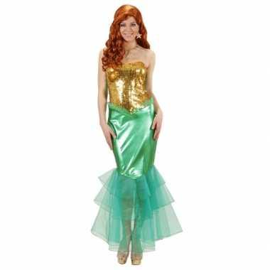 Zeemeermin verkleedkleding voor dames