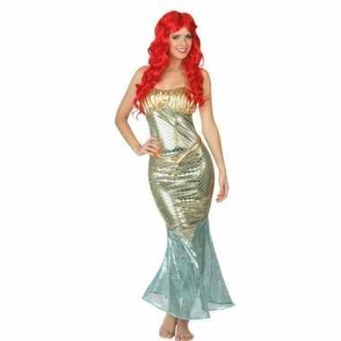 Zeemeermin verkleedverkleedkleding/jurk voor dames