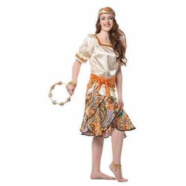 Zigeunerin verkleedkleding dames