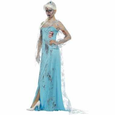 Zombie froze to death verkleedkleding voor dames