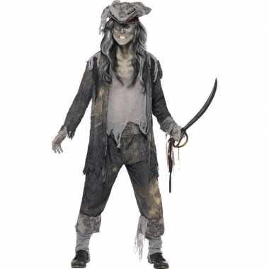 Zombie piraten verkleedkleding voor heren