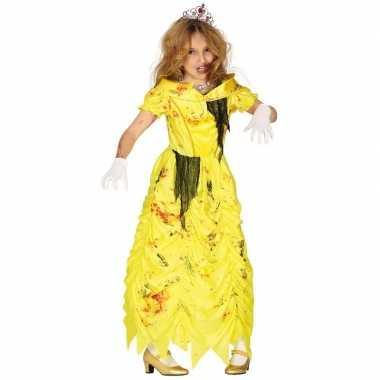 Zombie prinses belle verkleedverkleedkleding voor meisjes prinsessenj