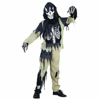 Zombie skeletten verkleedkleding kinderen