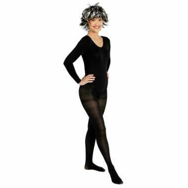 Zwarte ballet verkleedkleding