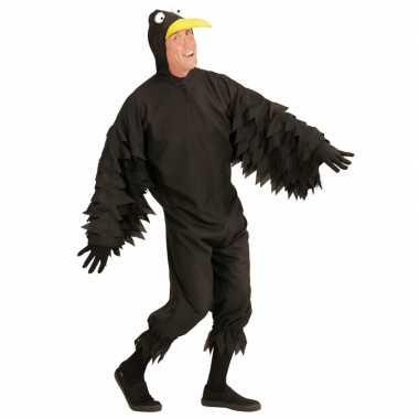 Zwarte kraai verkleedkleding voor volwassenen