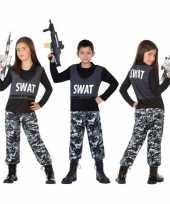 Politie swat verkleed pak verkleedkleding voor kinderen